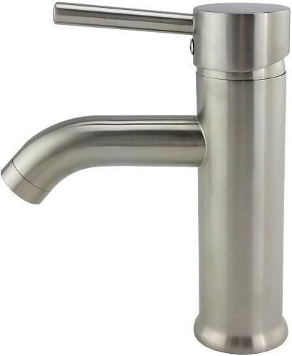 KES Euro Contemporary Bathroom Vanity Sink Lavatory Nickel