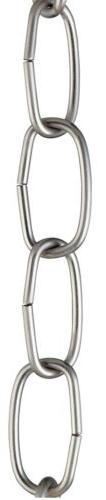 Westinghouse Lighting Corp 3-Feet Fixture Chain, Nickel