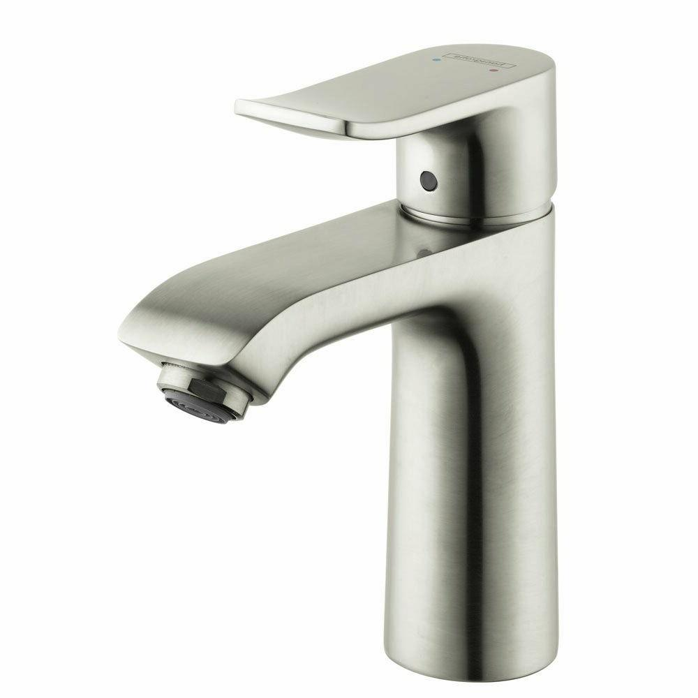 Hansgrohe Metris Single Hole Faucet, Brushed Nickel Ready to