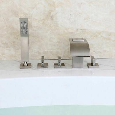 Roman Bathroom Tub with Handheld Shower