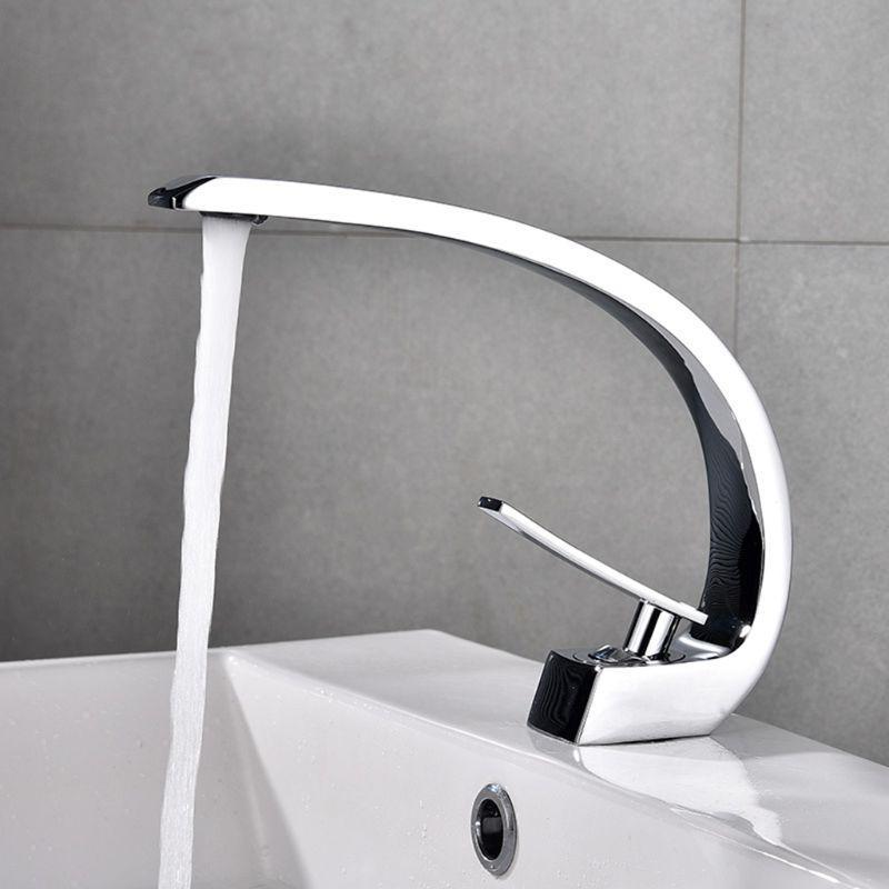 New Bath Basin Faucet Brass Chrome Faucet <font><b>Brush</b>