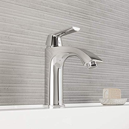 VIGO Inch Brushed Faucet, Single-Hole Deck-Mount Vanity Faucet Layer