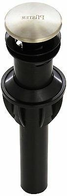 Price Pfister Bathroom Push and Seal Drain with Overflow 972
