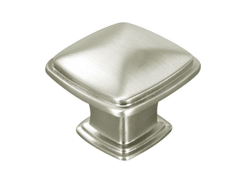Satin Nickel or Brushed Nickel Kitchen Bathroom Cabinet Squa