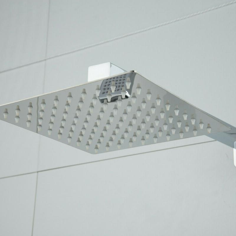 Shower Faucet 8 inch Rainfall Shower Brushed Tap
