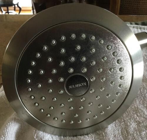 shower head brushed nickel