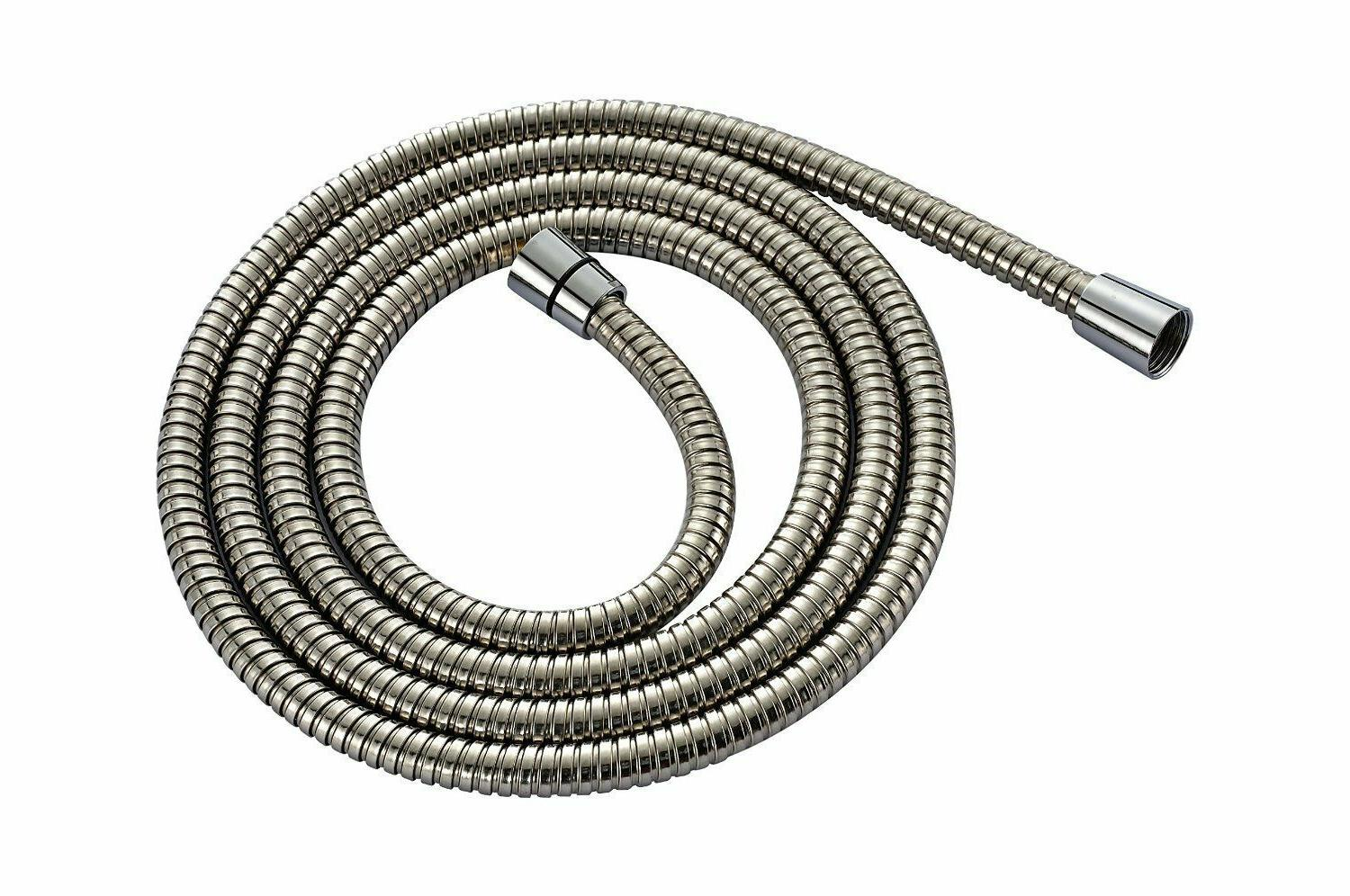 extra long shower hose 96 inch brushed