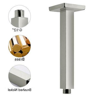 Stainless Steel Shower Head Brushed Nickel