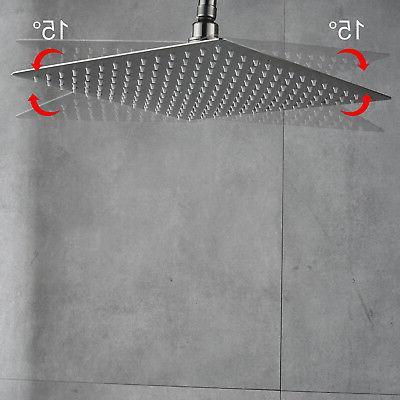 Stainless Handheld Shower Ceiling Shower Head