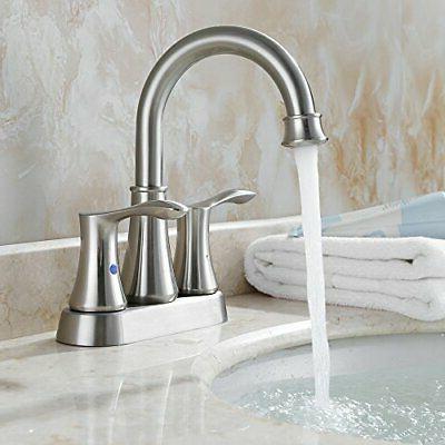 PARLOS Swivel Spout 2-handle Lavatory Bathroom Sink