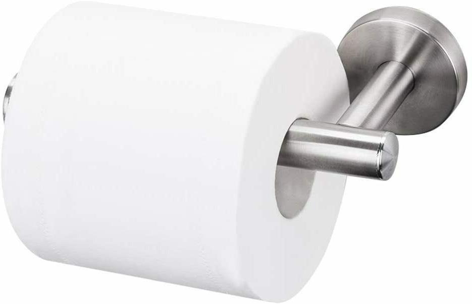 Toilet Holder Brushed Nickel Tissue Roll