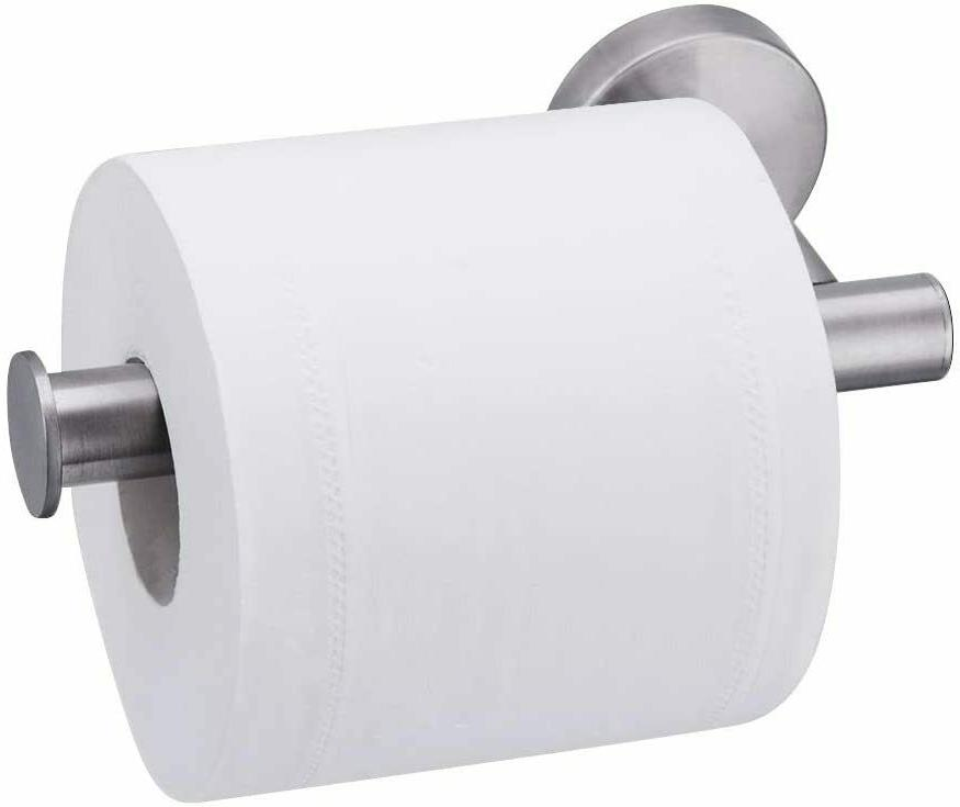 toilet paper holder brushed nickel bath tissue