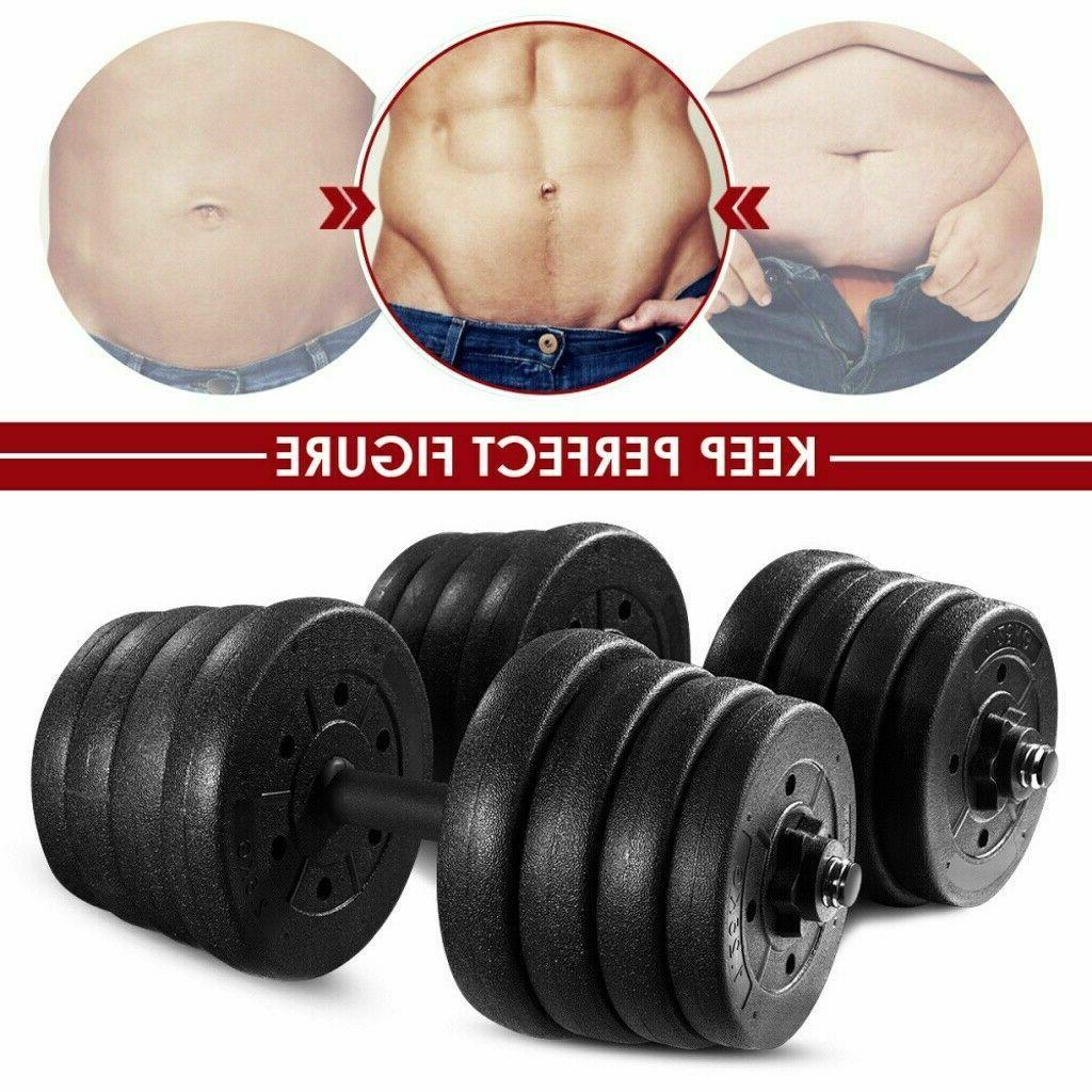Totall LB Dumbbell Barbell Plates Adjustable