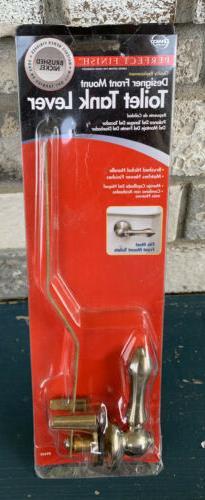 Danco Universal Toilet Tank Lever, Brushed Nickel #89449
