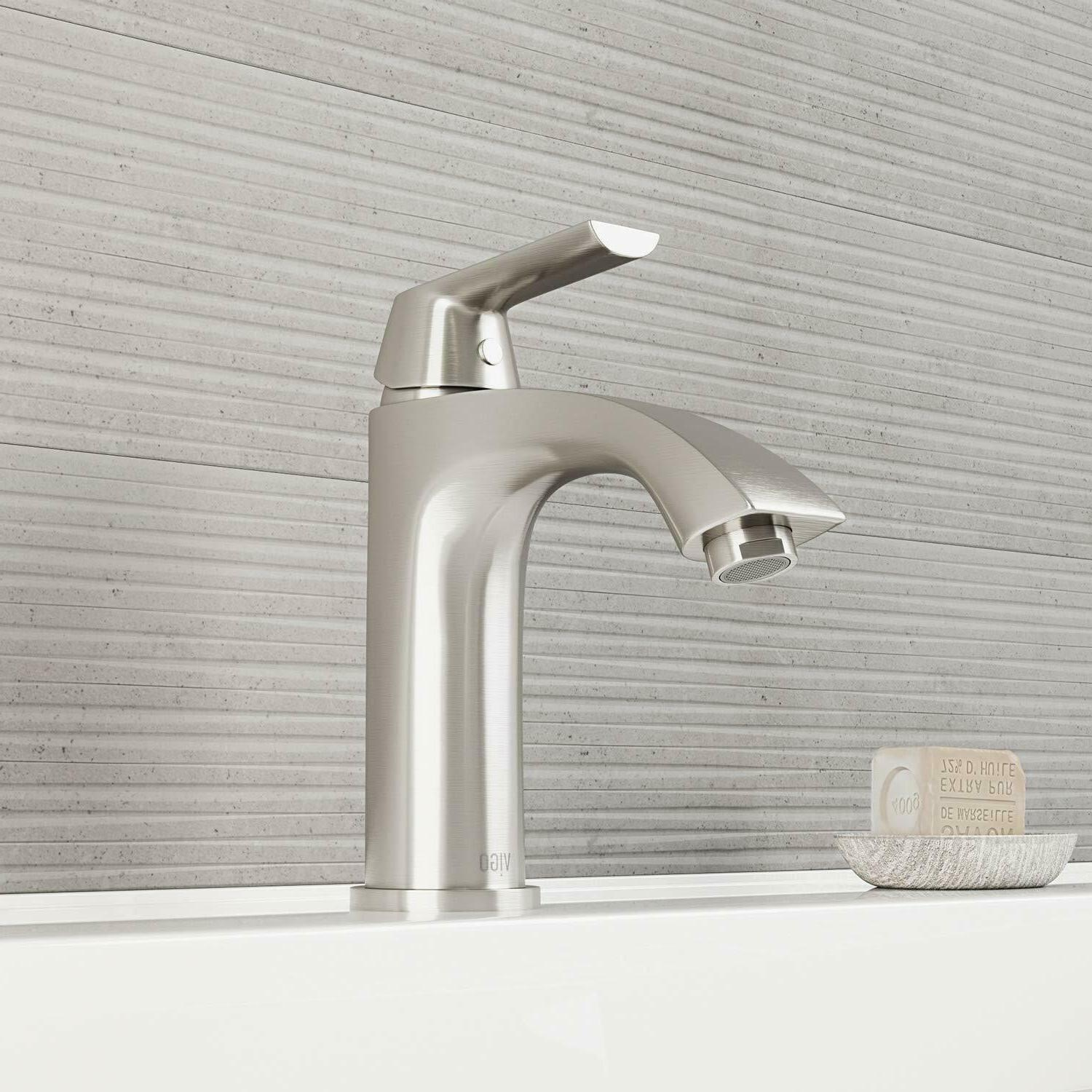vg01028bn penela single hole bathroom faucet brushed