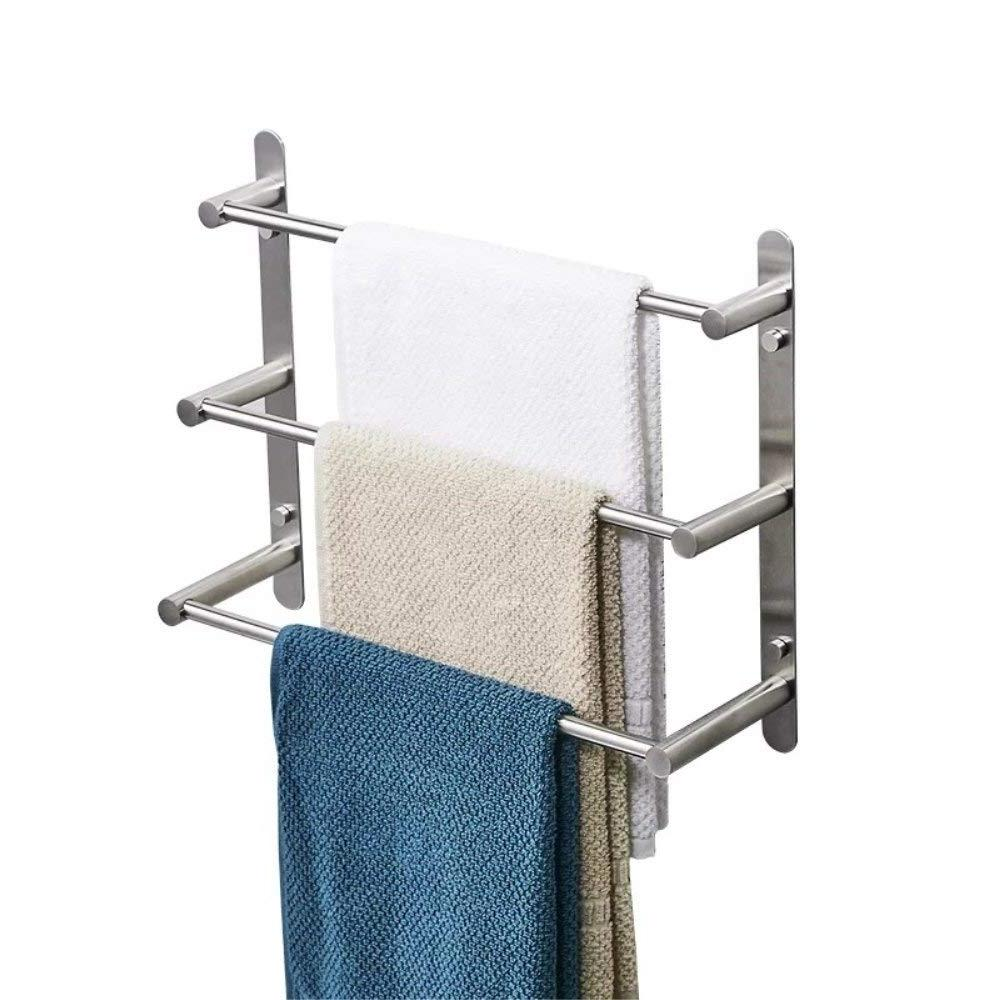 304 stainless steel three-layer towel <font><b>bar</b></font