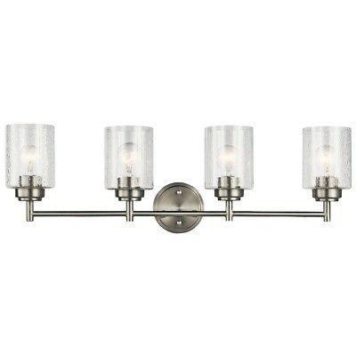 winslow 4 light bathroom vanity light in