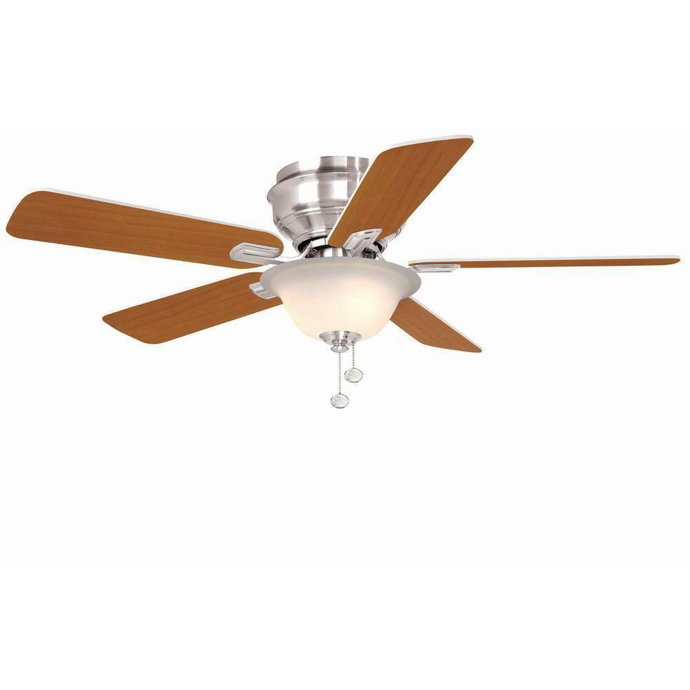 Hampton YG204-BN-D Hawkins 44 in Ceiling Fan