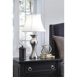 Ashley Furniture Signature Design - Rishona Metal Table Lamp