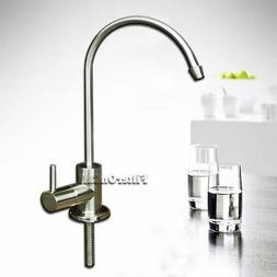 Lead Free Euro Style Faucet Brushed Nickel Chrome Finish Wat