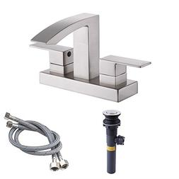 KES cUPC NSF Certified BRASS Two Handle Bathroom Waterfall F