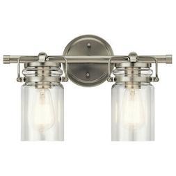 Kichler Lighting 45688NI Two Light Bath from The Brinley Col