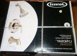 JACUZZI Lyndsay Brushed Nickel 1-Handle Tub & Shower #055344