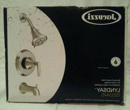 JACUZZI Lyndsay Brushed Nickel 1-Handle Tub & Shower 0553445