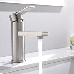 VCCUCINE Modern Commercial Brushed Nickel Single Handle Bath