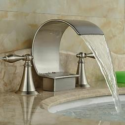 Kitchen Sink Faucet Single Handle Pull Out Sprayer Mixer Mat