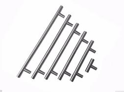 Modern Stainless Steel Brushed Nickel  Cabinet T Bar Handle