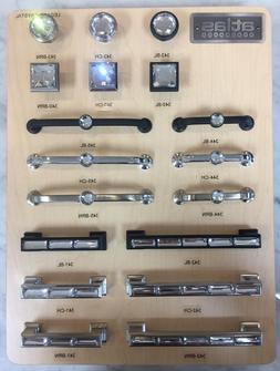 Multi Pack_Atlas_Crystal_Kitchen Cabinet Drawer Pull Knob_Mo