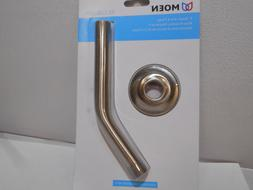 "NEW Moen CL123815BN Brushed Nickel 8"" Shower Arm and Flange"