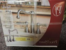 NEW Price Pfister Marielle Brushed Nickel Bathroom Sink Fauc