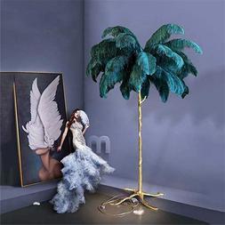 Nordic LED Floor <font><b>Lights</b></font> Ostrich Feather