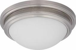 Nuvo Corry LED Flush Fixture with Frosted Glass