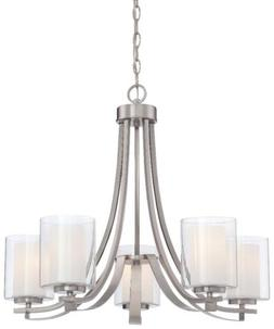 Minka Lavery 4105-84 Parsons Studio 5-Light Chandelier - Bru