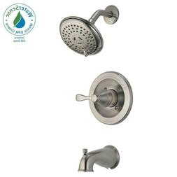 Delta Porter Single-Handle 3-Spray Bathroom Tub & Shower Fau