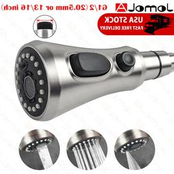 JOMOLA Pull Out Kitchen Sink Faucet Sprayer Head Brushed Nic