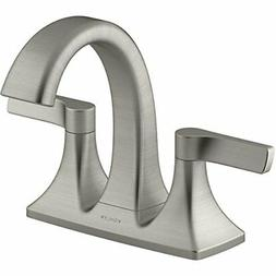 KOHLER R22476-4D-BN Maxton Brushed Nickel 2-handle 4-in Cent