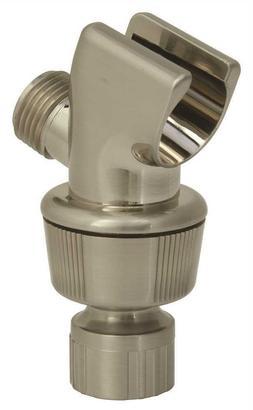 replacement brushed nickel shower arm swivel bracket