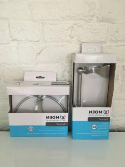 MOEN Retreat Lot DN8386BN Towel Ring & DN8308BN Paper Holder