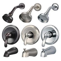 FREUER Ristorare Collection: Showerhead, Valve & Tub Spout,