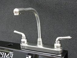 RV Mobile Home Parts Kitchen Sink faucet Hi-Rise Spout Tea P
