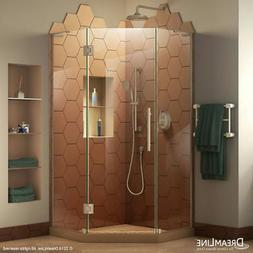 Dreamline SHEN-2638380-04 Brushed Nickel Hinged Shower Enclo