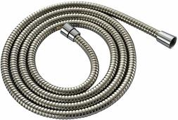 Shower Hose Brushed Nickel Extra Long Stainless Steel Handhe