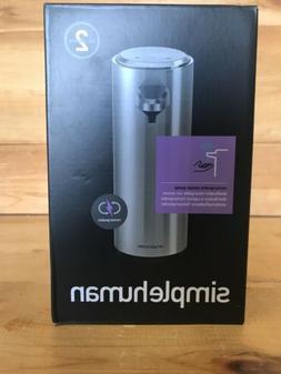simplehuman 8 oz. Sensor Pump with Soap Sample, Brushed Nick