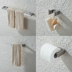 Sliver Brushed Nickel Bathroom Accessories Set,Stainless Ste