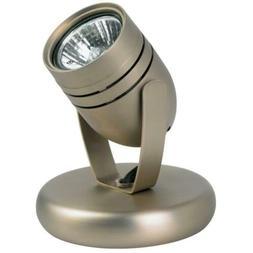 Slot Back Wall Uplight Light - Brushed Steel Nickel Finish -