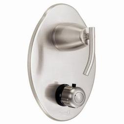 Danze Sonora Trim for Thermostatic Valve, Brushed Nickel
